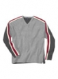 College Sweat Shirt in Stripes - Product Image