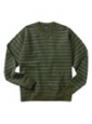 Striped Sweat Shirt (100% Cotton) - Product Image